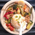 RiceRockit Veg & Tofu rice plate